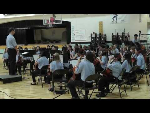 Elkins Pointe Middle School Orchestra  on Nov 10, 2011 (7th Grade)