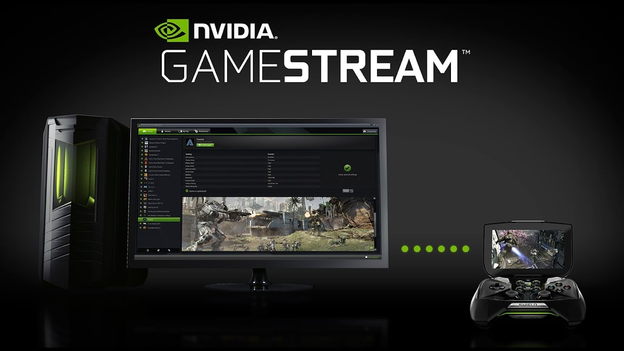Nvidia Gamestream Youtube