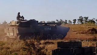 Ukraine War - Russian military equipment accumulated near Lugansk Ukraine