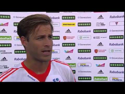 Jeroen Hertzberger Post Match Interview #UEHC2015 #EHC2015
