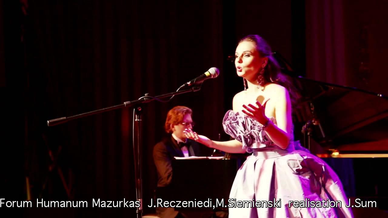 """Johann Strauss (syn) """"Frühlingsstimmen (Odgłosy wiosny)""""–Justyna Reczeniedi, III FHMazurkas"""