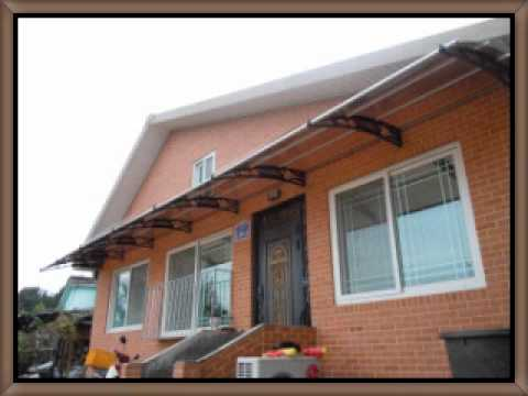 DIY Do It Yourself Type Awning That Anyone Can Set Up And Instal