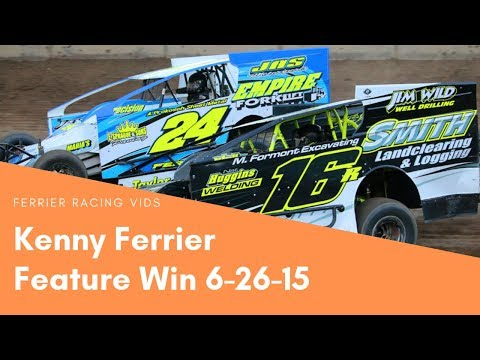 Kenny Ferrier Feature Win Accord Speedway 6-26-15