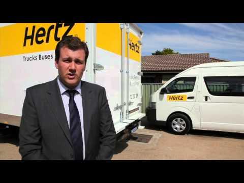 hertz car and truck rental
