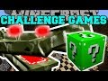 Minecraft: CRAGADILE CHALLENGE GAMES - Lucky Block Mod - Modded Mini-Game
