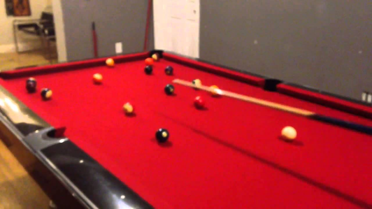 Brunswick Pool Table For Sale YouTube - Brunswick gold crown pool table for sale