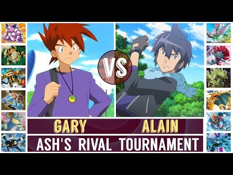 FINAL! Gary vs. Alain (Pokémon Sun/Moon) - Ash's Rival Tournament