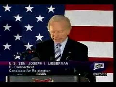 Joe Lieberman 092506