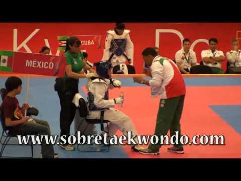 Taekwondo a Londres Maria Espinosa (MEX) vs Daysy Montes de Oca (DOM) + 67 Kg