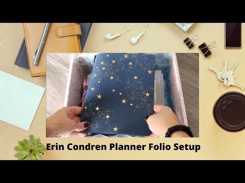 2020 Erin Condren Planner Folio SETUP