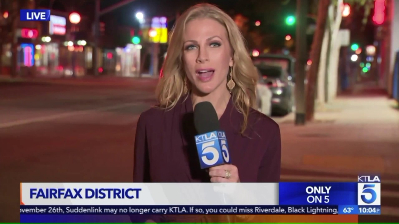 KTLA 5 Airs Report About Melrose Crime, Armed Robbery Occurs