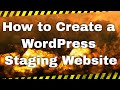 How to create a WordPress staging site with WP Staging