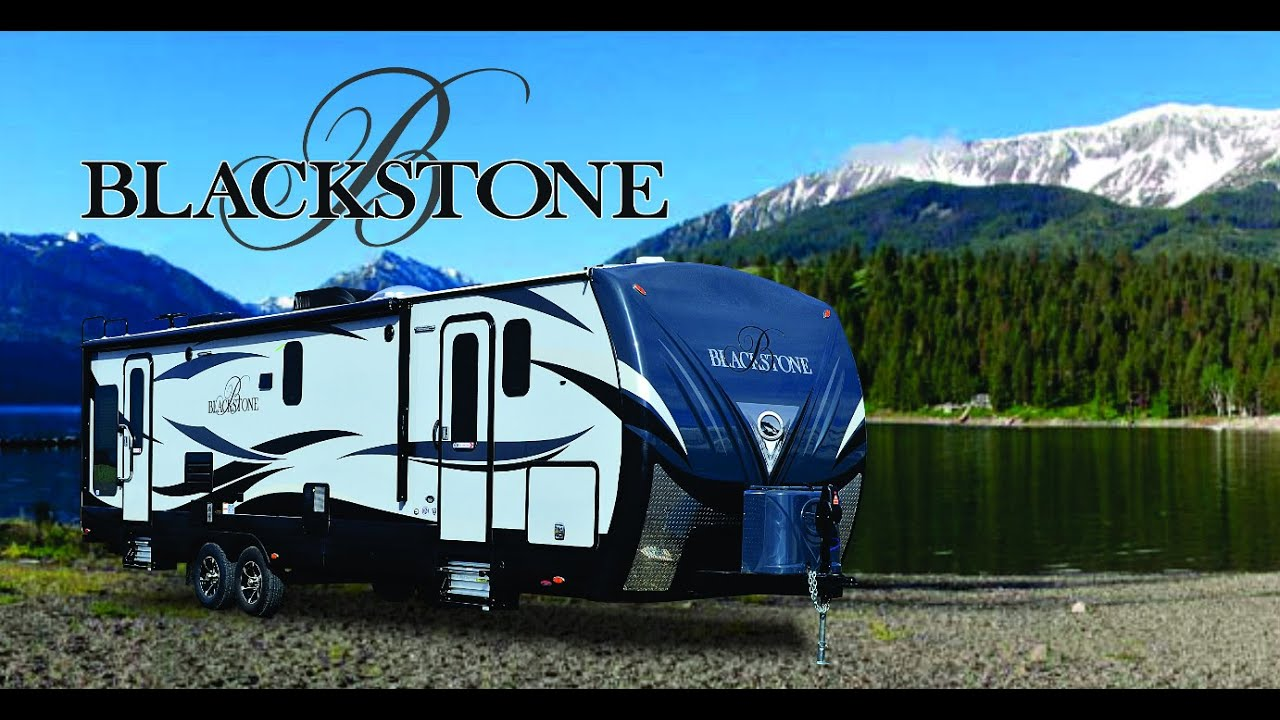 NEW 2015 Blackstone Luxury Travel Trailers