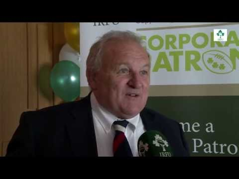 Irish Rugby TV: Martin Moore & Mick Quinn Support The Corporate Patron Scheme