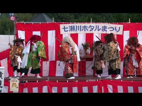 七瀬川蛍まつり2018 大分神楽社『貴見城』