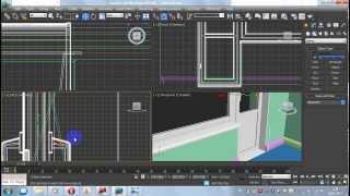 3d max для начинающих урок 3.2 Вставляем окна