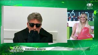 Renato Gaúcho manda recado no aniversário de Renata Fan