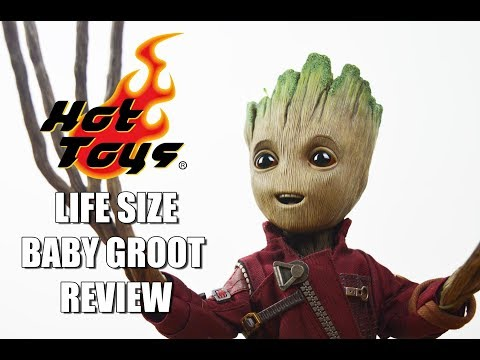Hot Toys Life Size Baby Groot Review and Competition Draw