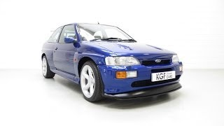 An Outstanding Ford Escort RS Cosworth Luxury with Just 34,919 Miles and Full History - SOLD!
