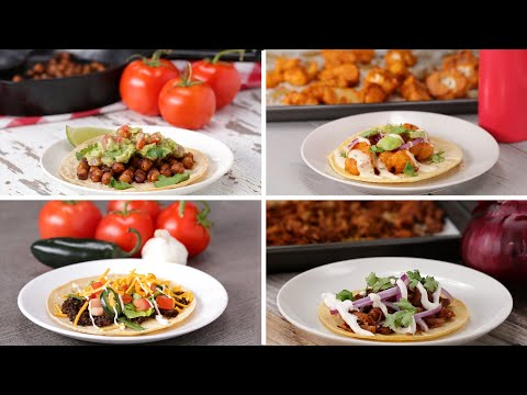 Meatless Tacos 5 Ways