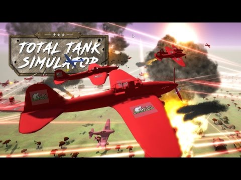 THE MOST INSANE WAR SIMULATOR! Massive Battles with Tanks and Planes - Total Tank Simulator Gameplay