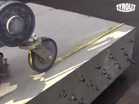 Технология резки бетона алмазным канатом TYROLIT