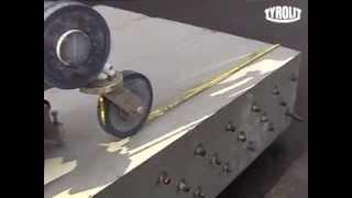 видео Гидроабразивная резка бетона