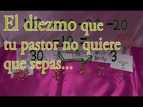 Lo Que Tu Pastor No Quiere Que Sepas Acerca Del Diezmo