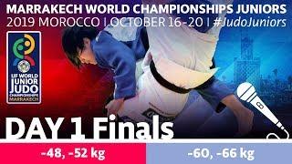 World Judo Championships Juniors 2019 - Day 1 Finals