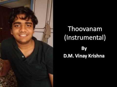 thoovanam instrumental by D M vinay krishna
