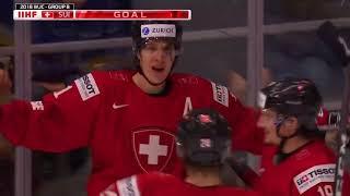 JVM 2018 - Sverige vs Schweiz 7-2