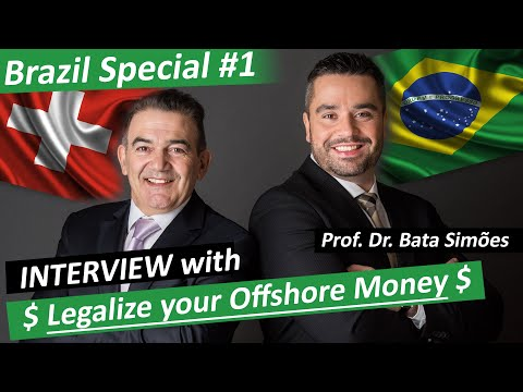 How to legalize Offshore Bank Accounts in Brazil