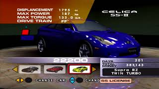 Sega GT 2002: All Cars in the dealership [Part 1]
