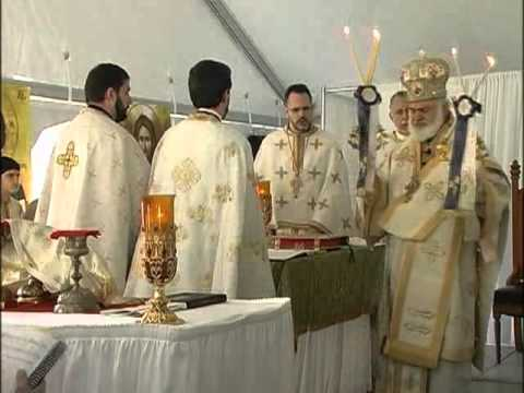 Holy Trinity Greek Orthodox Church - Pittsburgh, PA - Ground Blessing 10/19/2008 Part 1 of 3