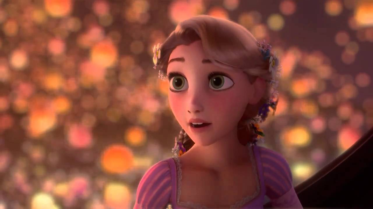 Rapunzel Hd I See The Light Italian Version Youtube