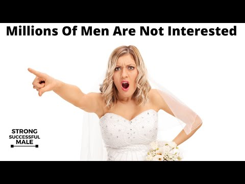 Millions Of Men No Longer Want Marriage...(And Women Are Freaking Out)