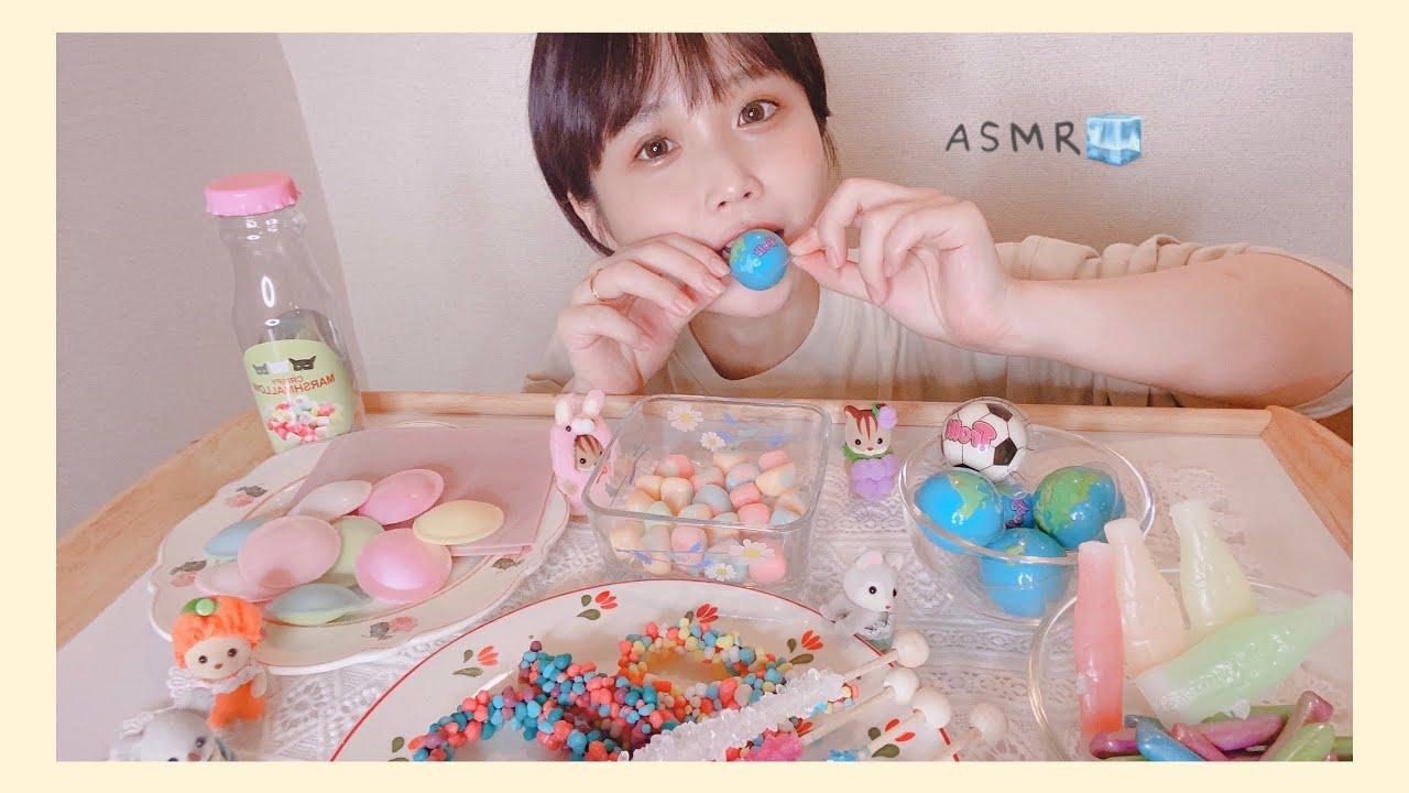 = ASMR =話題のお菓子たちをたべてみました。  /咀嚼音/Eating Sounds