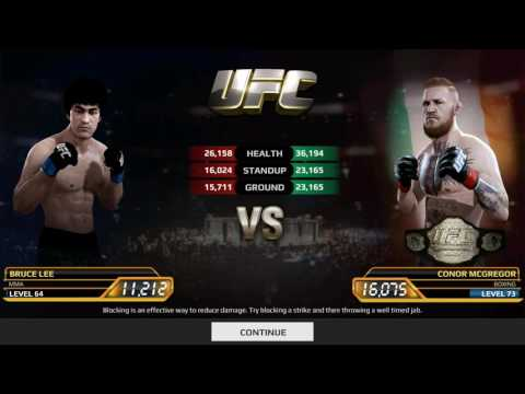 Bruce Lee Vs Conor McGregor (Champion Edition) - UFC EA SPORTS ANDROID