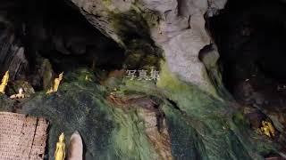 エンジンボートで雨期のメコン川を遡り仏像数千体のパークウー洞窟へ!~ラオス・ルアンパバーン