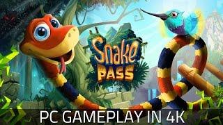Snake Pass - Gameplay in 4K!