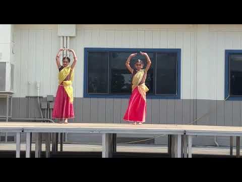 Graystone Elementary School cultural faire dance