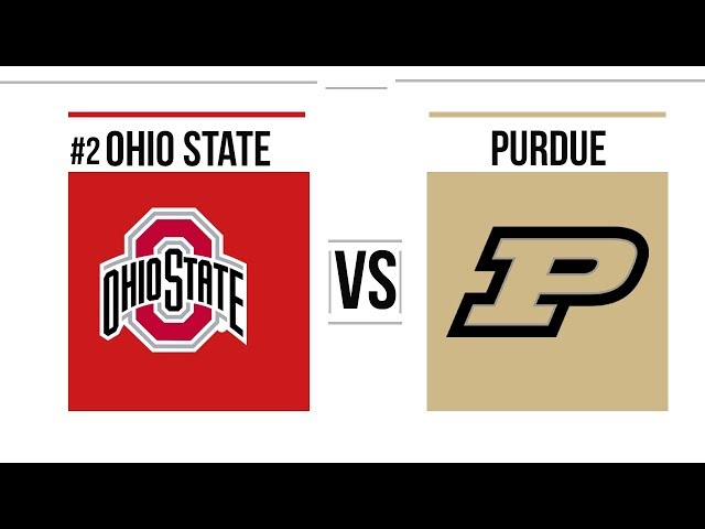 Week 8 2018 #2 Ohio State vs Purdue Full Game Highlights