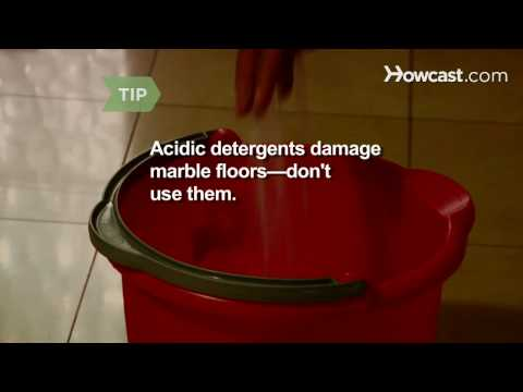 How to Clean a Marble Floor