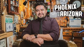 House Of Shave Barber Parlor, Phoenix, Arizona.  The Barber Chair Interviews: Episode 2