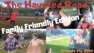 The Haunted Road Drive Thru   Family Friendly Edition   Orlando Florida