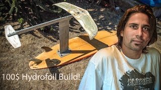 how to make a hydrofoil board