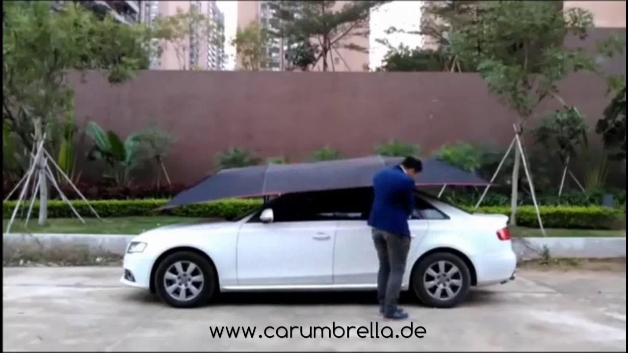auto schirm carumbrella youtube. Black Bedroom Furniture Sets. Home Design Ideas