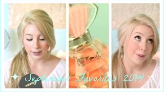 September Favorites 2014 | HeyThereBella | Thumbnail