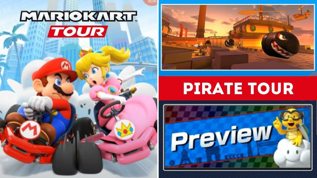 Pirate Tour Preview Predictions Mario Kart Tour New Tour