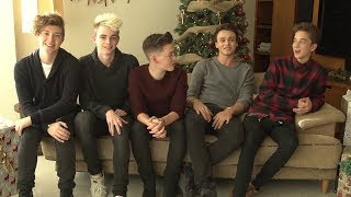 Why Don't We • Behind The Scenes of You and Me At Christmas